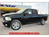 2012 Black Dodge Ram 1500 Express Quad Cab #72826815