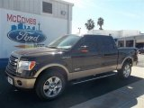 2013 Kodiak Brown Metallic Ford F150 Lariat SuperCrew 4x4 #72826646