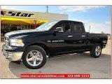2012 True Blue Pearl Dodge Ram 1500 Lone Star Quad Cab #72826813