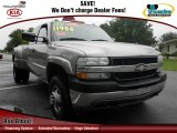 Light Pewter Metallic Chevrolet Silverado 3500 in 2002