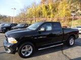 2012 Black Dodge Ram 1500 Express Quad Cab 4x4 #72826802