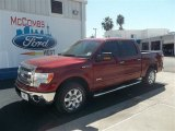 2013 Ruby Red Metallic Ford F150 XLT SuperCrew #72826666