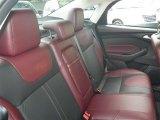 2012 Ford Focus SE Sport Sedan Rear Seat