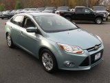 2012 Frosted Glass Metallic Ford Focus SEL Sedan #72860536