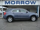 2013 Atlantis Blue Metallic Chevrolet Equinox LS #72867769
