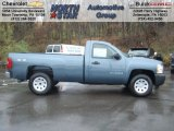 2013 Blue Granite Metallic Chevrolet Silverado 1500 Work Truck Regular Cab 4x4 #72867827