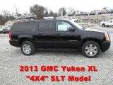 2013 Onyx Black GMC Yukon XL SLT 4x4 #72868096