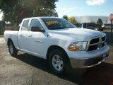 2012 Bright White Dodge Ram 1500 SLT Quad Cab 4x4 #72868094