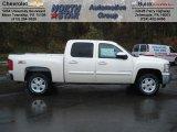 2013 White Diamond Tricoat Chevrolet Silverado 1500 LT Crew Cab 4x4 #72867820