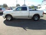 2010 Stone White Dodge Ram 1500 Laramie Quad Cab 4x4 #72868151