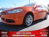 2013 Header Orange Dodge Dart SXT #72867801