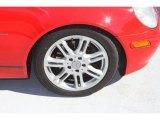 Mercedes-Benz SLK 2004 Wheels and Tires