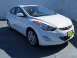 2013 Shimmering White Hyundai Elantra Limited #72867878