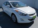 2013 Shimmering White Hyundai Elantra Limited #72867875
