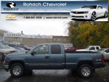 2006 Blue Granite Metallic Chevrolet Silverado 1500 Work Truck Extended Cab 4x4 #72868138