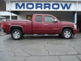 2007 Sport Red Metallic Chevrolet Silverado 1500 LT Extended Cab 4x4 #72867775
