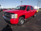 2009 Victory Red Chevrolet Silverado 1500 LT Crew Cab #72867924