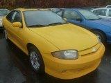 2003 Yellow Chevrolet Cavalier LS Sport Coupe #72867852
