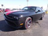 Pitch Black Dodge Challenger in 2013