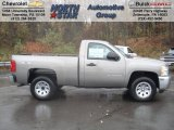 2013 Graystone Metallic Chevrolet Silverado 1500 LS Regular Cab 4x4 #72867841