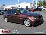 2007 Barrique Red Metallic BMW 3 Series 328i Sedan #72902688