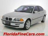 2000 Titanium Silver Metallic BMW 3 Series 328i Sedan #7281487