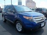 2013 Deep Impact Blue Metallic Ford Explorer XLT #72902517
