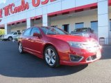 2010 Red Candy Metallic Ford Fusion Sport #72902513