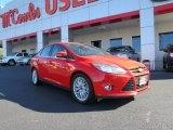 2012 Race Red Ford Focus SEL Sedan #72902512