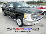 2013 Fairway Metallic Chevrolet Silverado 1500 LT Crew Cab 4x4 #72902851