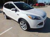 2013 White Platinum Metallic Tri-Coat Ford Escape Titanium 2.0L EcoBoost #72903007