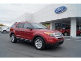 2013 Ruby Red Metallic Ford Explorer XLT #72902585