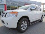 2012 Blizzard White Nissan Armada SV #72902745