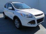 2013 White Platinum Metallic Tri-Coat Ford Escape SEL 2.0L EcoBoost #72902660