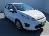 2013 Oxford White Ford Fiesta S Hatchback #72902659