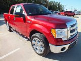 2013 Ruby Red Metallic Ford F150 XLT SuperCrew #72903001