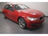 2013 Melbourne Red Metallic BMW 3 Series 335i Sedan #72902840