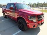 2013 Ruby Red Metallic Ford F150 FX4 SuperCrew 4x4 #72902998
