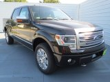 2013 Kodiak Brown Metallic Ford F150 Platinum SuperCrew 4x4 #72902655