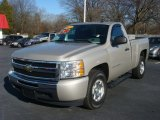 2009 Silver Birch Metallic Chevrolet Silverado 1500 LS Regular Cab #72902994