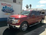 2013 Ruby Red Metallic Ford F150 XLT SuperCrew #72902494