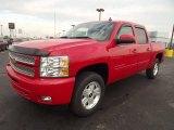 2013 Victory Red Chevrolet Silverado 1500 LT Crew Cab 4x4 #72902830