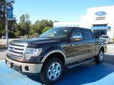 2013 Kodiak Brown Metallic Ford F150 Lariat SuperCrew 4x4 #72902565
