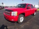 2013 Victory Red Chevrolet Silverado 1500 LT Crew Cab 4x4 #72902822