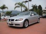 2008 Titanium Silver Metallic BMW 3 Series 328i Sedan #7280525