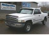 2001 Bright White Dodge Ram 1500 ST Club Cab 4x4 #72902641