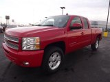 2012 Victory Red Chevrolet Silverado 1500 LT Extended Cab 4x4 #72902817