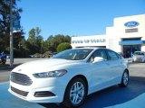 2013 Oxford White Ford Fusion SE #72902547
