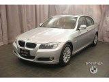 2009 Titanium Silver Metallic BMW 3 Series 328xi Sedan #7278938