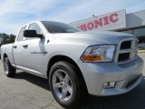 2012 Bright Silver Metallic Dodge Ram 1500 Express Quad Cab #72902627